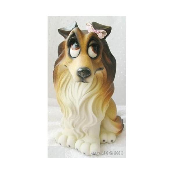 figurine chien humoristique
