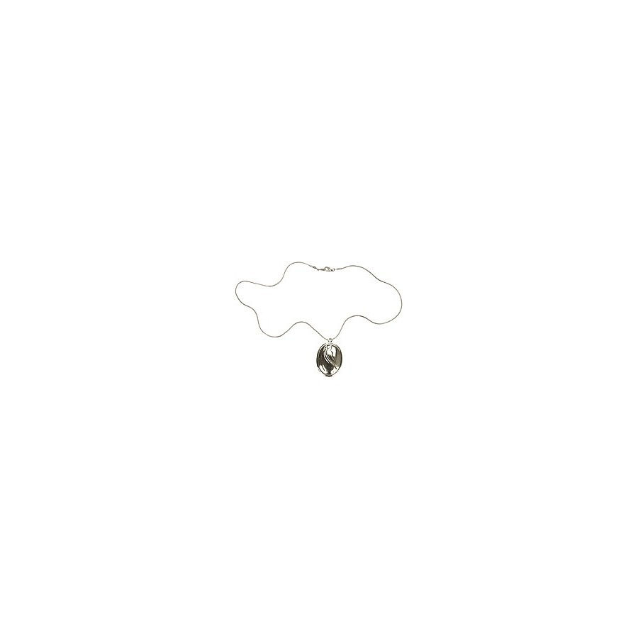 Collier avec médaillon loquet
