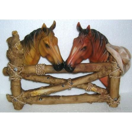 deux chevaux barrière