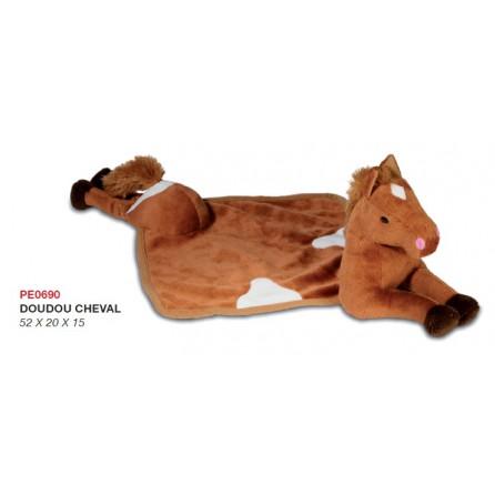 doudou cheval pour enfant