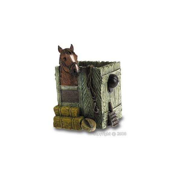 Pot à crayon avec cheval
