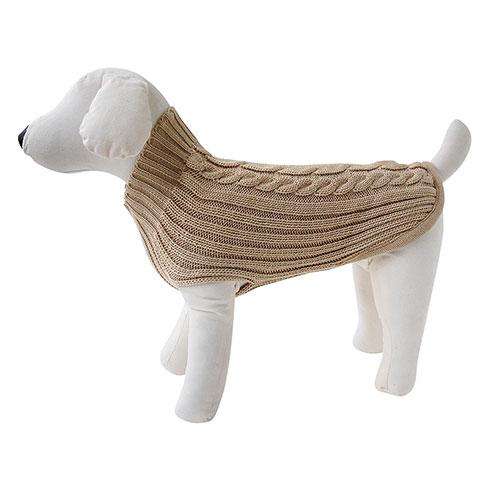 pull Côtelé pour chien