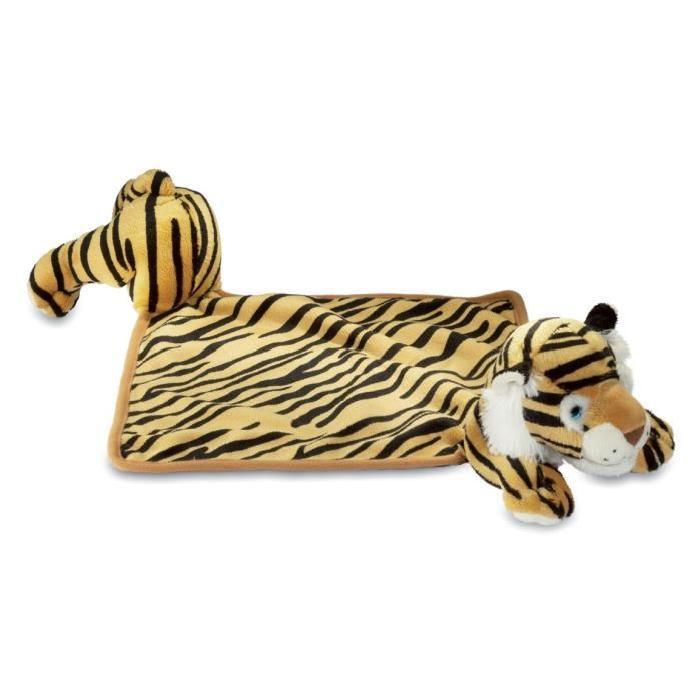 Doudou peluche tigre