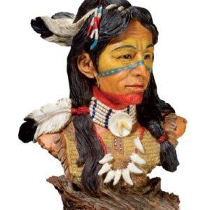 figurine indien cheyenne