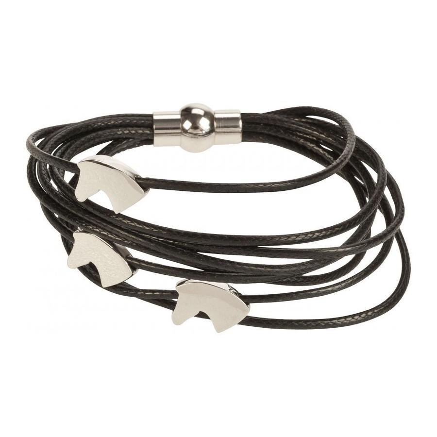bracelet motif cheval