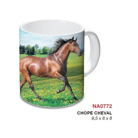 chope motif cheval