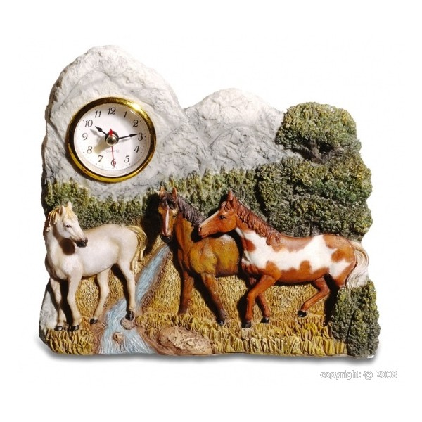 Montre avec chevaux