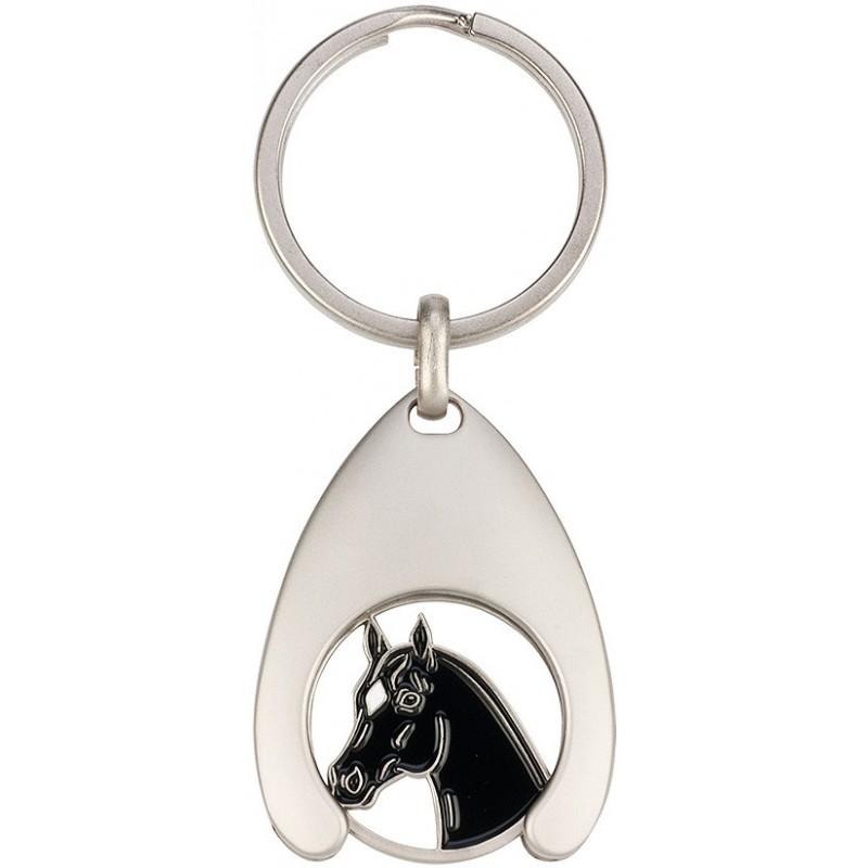 Porte-clés jeton Tête de cheval