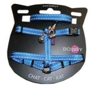 Le kit harnais et laisse assortie SAFE est l'atout sécurité des balades nocturnes du chat!