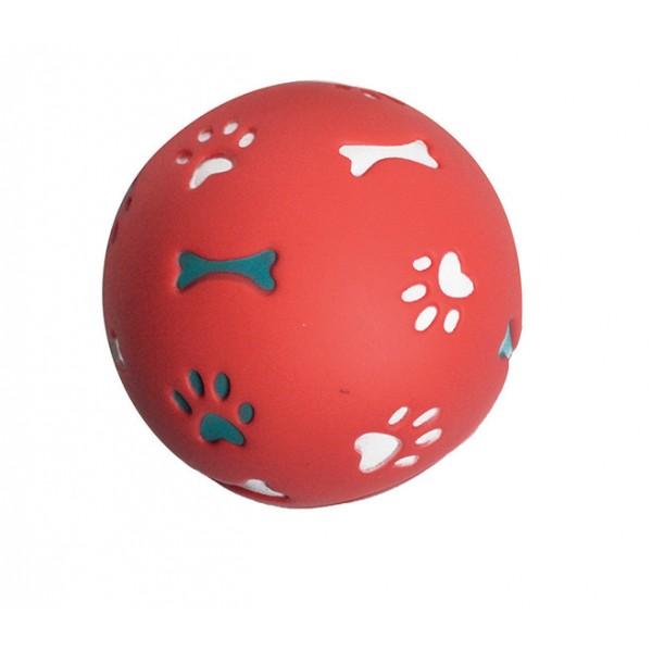 Balle distributrice de friandises 7,5 cm