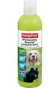 Shampoings sprays, lotions anti parasites pour chiens