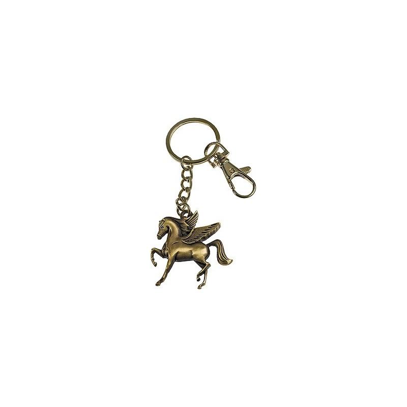 Porte-clés cheval ange gardien
