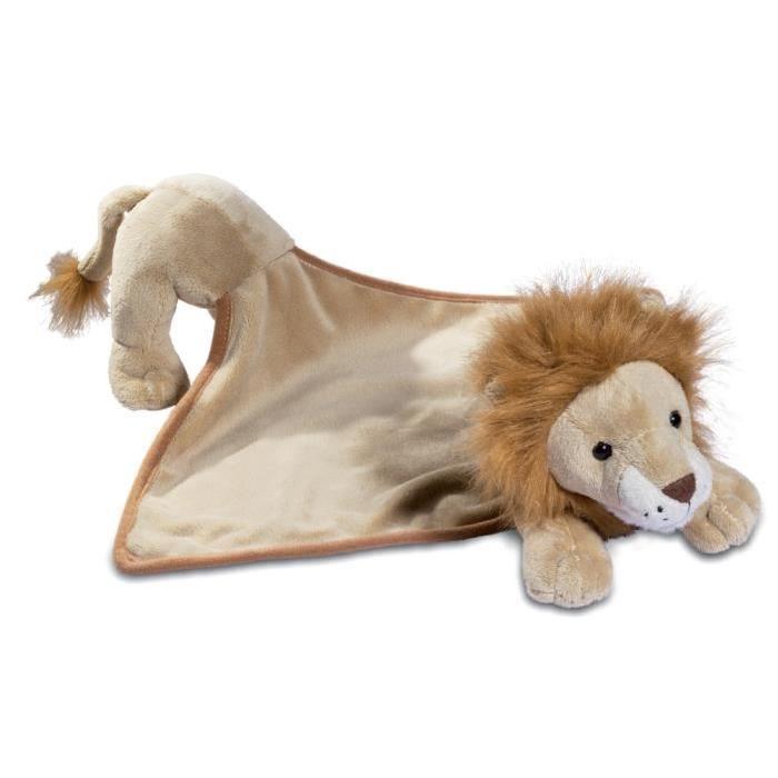 Doudou peluche lion