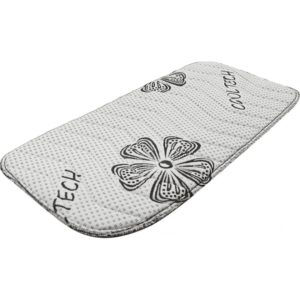 """Sous-bandages composés de fibres textile """"Cooltech"""", nouveau tissu antibactérien qui assure une régulation thermique optimale. Matelassé mousse 10 mm. Vendu par paire. Composition Tissu Cooltech Conseils d'entretien Laver à l'eau, puis laisser sécher."""