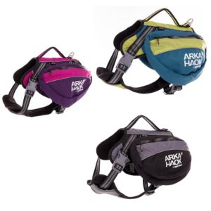 harnais backpack pour chien sacoches amovible