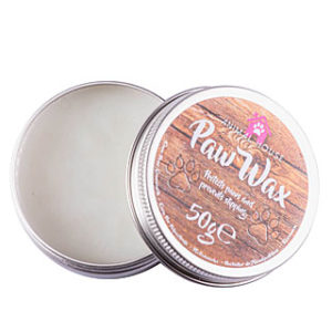 Paw wax protection coussinets