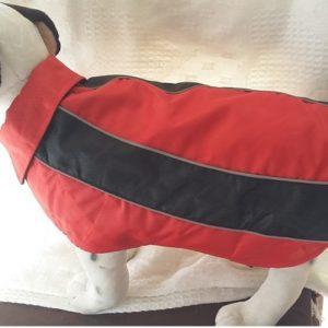 manteau casual rouge karlie