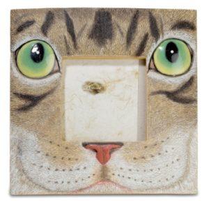 Cadre photo tête de chat