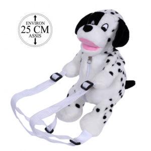 Peluche Sac à dos dalmatien 25cm de marque Sandy Située en France