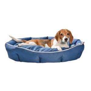 Corbeille Denton pour chiens BOBBY en bleu